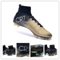 real football boots - Mens Soccer Shoes Real Carton Fiber Football Shoes CR7 Soccer Cleats Footwear Cleats Athletics Boots Mens Trainer Boots Athletics Sneakers