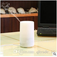 aroma therapy oil - 20pcs CCA2006 Hot Sale Hot Simple Night Light LED USB Essential Oil Ultrasonic Air Humidifier Aroma therapy Diffuser Reliable Supply