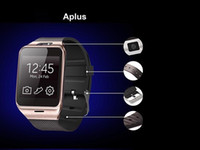 Wholesale Aplus GV18 Gear2 Bluetooth Smartwatch TFT HD Touch Screen Suport Phone Call NFC Camera SIM Card TF Card VS U8