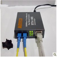 Wholesale Fast Ethernet Fiber Optic Media Transceiver Single Mode HTB S KM FTTH Tools