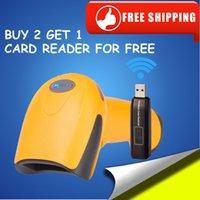 Wholesale wireless barcode scanner usb barcode scanner wireless bar code reader usb scanner barcode laser wireless scanner handheld