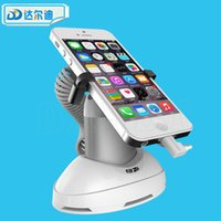 adjustable security bars - Cell Phone Security Stand Holder Charging Alarm Mobile Phone Shop Anti Theft Desktop Bar Exhibit with Adjustable Gripper Clamp DRD SD009NC