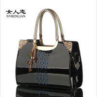 Shoulder Bags and bag - 2016 Brand New Fashion Women s Handbag bag Purses PU Leather fashion Shoulder Bags Retro Handbag bag Messenger Bag MYF50