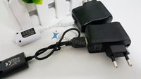 Wholesale E cig EGO T EGO USB Charger and EU US AU UK Wall Charger for ego electronic cigarette New Arrival