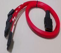 mini sata cable - 100pcs CM Mini SAS P SFF to SATA Pin Server Data Cable Hard Disk Data Cable DHL Shipping
