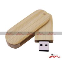 bamboo thumb drive - Retail GB Memory Flash USB Drive Thumb Stick Pendrive Engrave Logo True Storage Fast Shipping Swivel Natural Bamboo