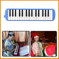 Wholesale 32 Piano Keys Melodica Musical Toy for Kids Children Students Musical Lovers Gift Toy Musical Instrument Blue