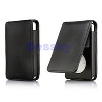 Wholesale Kimisohand Leather Flip Case Cover Skin for iPod Classic GB