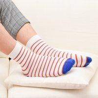 art institute - 2016 Casual Weed Socks Japan And South Korea New Autumn Winter Men s Cotton Striped Socks Art Institute Of Wind In Tube Thic