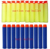 nerf guns - Nerf N strike Elite Rampage Eva Soft bullets Darts Blaster Nerf Toy Gun Bullets Flexible suction blaster