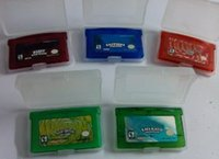advance usa - Best game combination EU USA version game Fire red emarald leaf green sapphire ruby for gba game gameboy advance game