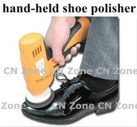 Wholesale household shoe polisher electric mini hand held portable Leather Polishing Equipment device automatic clean machine