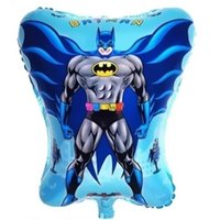 balloon stands sale - Hot Sale PC cm Batman Shape Balloons Toys Batman Balloon Stand Batman Party Supplies Globos