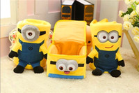 Wholesale Plush Toys Blankets Baby Blankets Bed Cover Baby Blanket New Travel Blanket Minions Air Conditioner Blanket Soft Sweet Cute Fashion Baby Kid