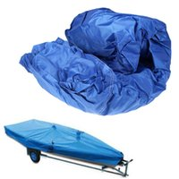 Wholesale 210D Speedboat Fishing Camping Boat Cover ft Beam quot Trailerable Fish Ski V Hull Weather Proof UV Protected Waterproof