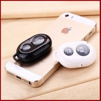 Wholesale NEW Universal wireless bluetooth shutter monopod mobile mini remote control mobile mini remote control fit for iphone samsung galaxy HTC