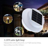 Wholesale Outdoor Led Solar Panel Lamp For Garden Yard Fence Gutter Solar Lights Waterproof Outdoor Home Tree Decor Deft Design Garden Solar Light