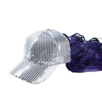 baseball cap wigs - New Arrival baseball cap Fashion hat for women snapback cap with wig Hot Hip hop hat in stock