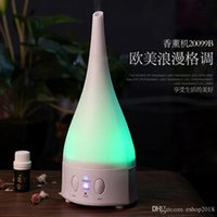 air ioniser - 2016 NEW Color changing Ultrasonic Air Humidifier and Aroma Diffuser Lamp Air purifier Air ioniser