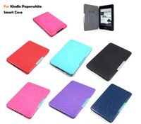 amazon ereader - 2015 NEW Ultra Slim Magnet PU Leather Smart Case Cover With Sleep and Wake For Amazon Kindle Paperwhite eReader