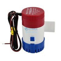 Wholesale 5Pcs GPH V Submersible Pump Fishing Boat Water Bilge Pump Marine A SV18 TK0994