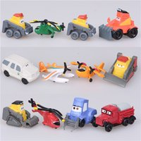 airplane cake decoration - The aircraft model Planes toys anime action figures gift mobilization bonsai cake decoration new plastic airplanes for sale cars