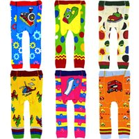 Cheap Character Baby Boys Girls Long Pants Brand New Busha Cars Thomas Helicopter Boy Clothes Wholesale 72pair lot