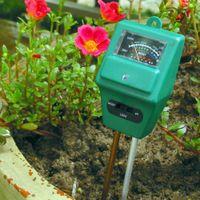 Wholesale 5PCS in Plant Flowers Soil Test Kits PH Tester Moisture Meter Light Illuminance Analyzer order lt no track