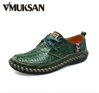 aligator leather - Mens Aligator Leather Printed Casual Ballet Flats Man Tenni Navy LUXURY Moccasin Shoes For Men Fashion Trend Party Sneakers