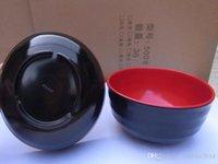 Wholesale New Melamine Dinerware bowls inch bowl B668 Japanese Style Spoons Melamine Tableware Miso Korean Soup bowl noodle bowl Rice Bowl
