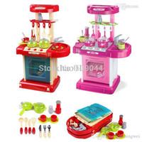 Wholesale retail New Safe Plastic Toys Children s Kids Own Kitchen Play Set Space Boy Girl Brand