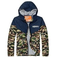 Cheap HOT sale Camouflage Jackets hoodie clothes hood by air men Outerwear & Coats Men's Clothing Apparel mix order