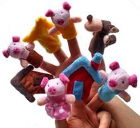 Wholesale Stuffed Black Pig - 2016 fingers I 7 cm refers to the three little pigs a fairy tale I stuffed refers to accidentally finger accidentally manufacturer wholesale