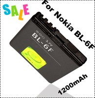 Cheap For Nokia BL-6F N78 N79 N95 6788 6788i mobile phone battery 1200mAh factory price
