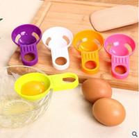 Wholesale 3pcs Colorful Egg Separator Kitchen Gadget Household PP Egg White Yolk Filter Separator Divider Kitchen Tool Egg Yolk White Separator