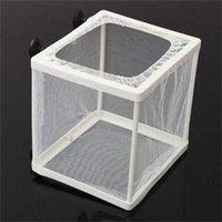 Wholesale TS Designer New Fish Hatchery Aquarium Fish Tank Breeding Breeder Net Case Baby Fish Acessories ST