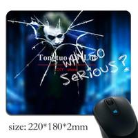 beautiful mouse pads - Joker VS Batman Customized Gaming Mouse pad High Quality Beautiful Rectangle Comfortable Hot Sale
