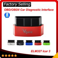 android bmw interface - 2016 New Arrival Elm Vgate iCar Bluetooth OBDII OBD2 ELM327 iCar3 Bluetooth Diagnostic Interface For Android IOS PC