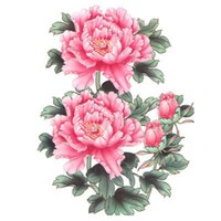 big picture album - X22cm tattoo stickers waterproof female big picture flower peony flower tattoo arm tattoo fake photo album MQA13