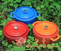 Wholesale color enamel mini pot