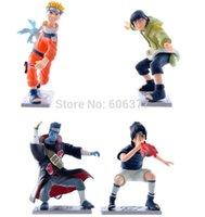 Wholesale New Anime Naruto Uzumaki Minato Gaara Temari PVC Action Figures Collectible Model Toys Dolls set