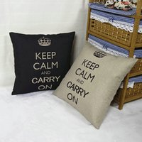 Wholesale New Style Cotton Linen Pillow Case Square Throw Pillowcase Cover Home Office