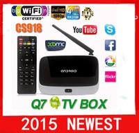 Cheap 10 pcs FREE DHL RK3188 quad core tv box android cs918 4.4 rk3188 android smart tv box CS918 1G 2G+8G quad core rk3188 android tv box cs918