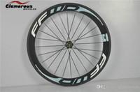 Wholesale FFWD Carbon Wheels Bike C mm Hub Clincher andTubular Available Milled Rim Spokes With Aerodynamic Profile Bike Wheelset
