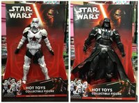 Wholesale Star Wars Toys Action Figures White Horse Darth Vader cm Height Hand Model Decoration Hot Sale DHL