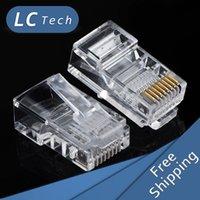 Wholesale 1000pcs RJ45 RJ CAT5 Modular Plug Network RJ45 RJ CAT5 Modular Plug Network Connectors plugs