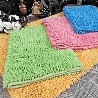 Wholesale Non Slip Strong Water Absorption Bath Mat Soft Comfotable Coloueful Multiple Style