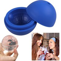Wholesale Silicone Ice Cube Tray Mold Maker Ice Ball Mould for Bar Party Festival Supplies