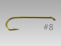 Wholesale Gold X long Dry Fly Streamer Fly Fishing Hooks Fly Tying Materials HK038