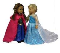 american girl clothes - Frozen Elsa Anna Costume Sets Doll Clothes Fits quot American Girl Clothing